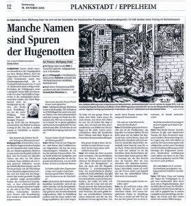 Mannheimer Morgen 18.10.18