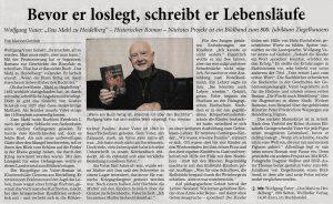 """Rezession """"Das Mahl zu Heidelberg"""" von Marion Gottlob"""